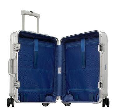 (包邮包税)德国直邮 RIMOWA日默瓦TOPAS镁铝合金经典银色系列旅行箱 32L/20寸 银色 923.52.00.4