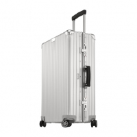 (包邮包税)德国直邮 RIMOWA日默瓦CLASSIC FLIGHT镁铝合金复古系列旅行箱 63L/26寸 银色 971.63.00.4 包邮包税