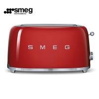 德国直邮 SMEG斯麦格四片型烘烤面包机 意大利贵族家庭厨房电器的标准 宝石红 ...