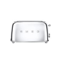 德国直邮 SMEG斯麦格四片型烘烤面包机 意大利贵族家庭厨房电器的标准 镀铬 T...