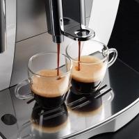 (包邮包税)德国直邮 意大利德龙(Delonghi)ECAM23.420.SB 家用办公室意式商用全自动咖啡机 银黑