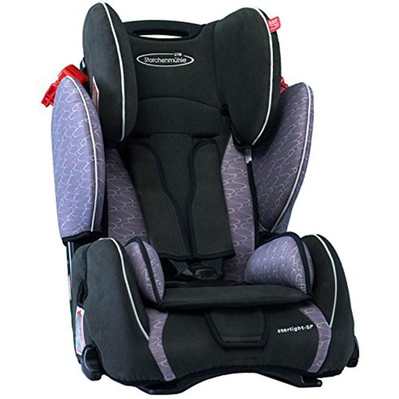 【清仓特价】德国直邮 斯迪姆STM汽车儿童安全座椅德国原装进口变形金刚 9个月-12岁9-36KG Grau 浅灰色