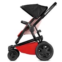 【清仓特价】德国直邮 Quinny奎尼 Buzz4 xtra高景观折叠婴儿推车 高端四轮推车 红黑色