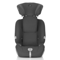 (包邮包税)德国直邮 德国BRITAX Romer Evolva 123 plus百代适 儿童汽车安全座椅 9月-12岁 安全带连接 超级百变王 理石黑 Cosmos Black