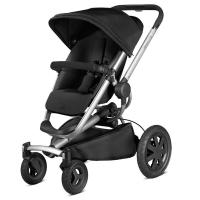【清仓特价】德国直邮 Quinny奎尼 Buzz4 xtra高景观折叠婴儿推车 高端四轮推车 黑色 79608360