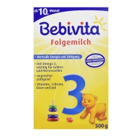 德国直邮 德国贝维他Bebivita婴幼儿配方奶粉 3段 500g 适合10-1...