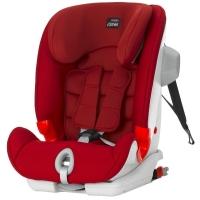 (包邮包税)德国直邮 宝得适百代适BRITAX德国进口汽车儿童安全座椅 百变骑士Advansafix III SICT Modell isofix 烈焰红 Flame Red