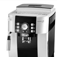 (包邮包税)德国直邮 德龙Delonghi全自动咖啡机 家用商用 豆粉两用 意式全自动 ECAM21.117.SB银黑