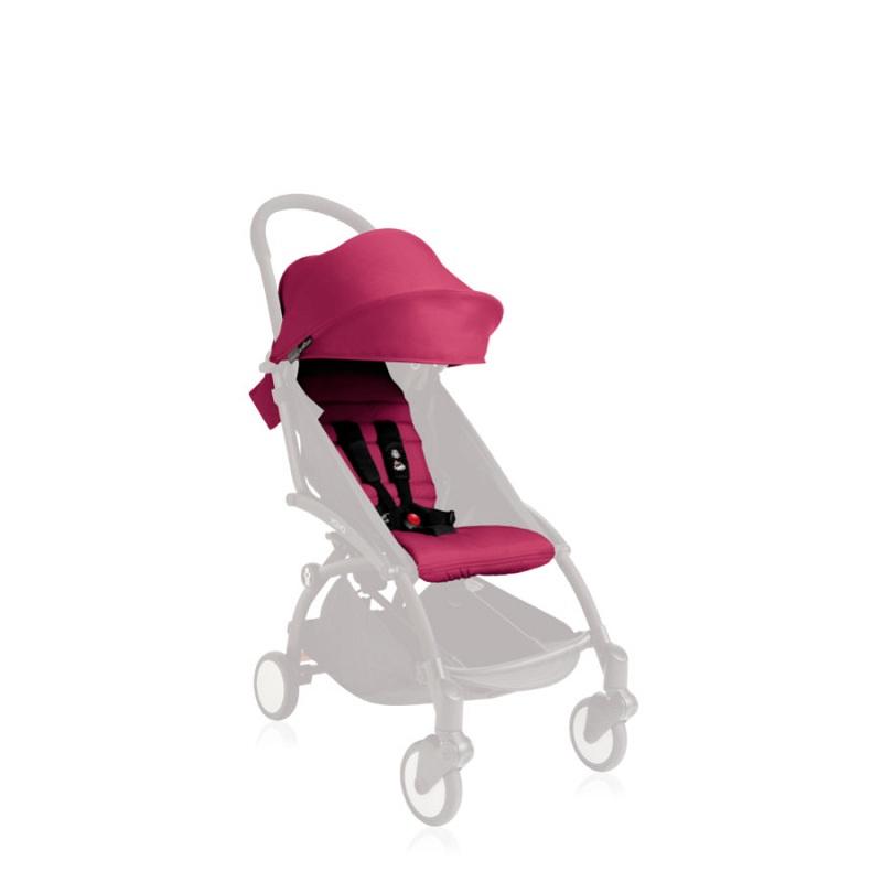 德国直邮 Babyzen yoyo婴儿推车车篷 6个月以上 包邮 粉色 Textilset Pink