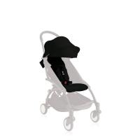 德国直邮 Babyzen yoyo婴儿推车车篷 6个月以上 包邮 黑色 Textilset black