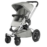 【清仓特价】德国直邮 Quinny奎尼 Buzz4 xtra高景观折叠婴儿推车 高端四轮推车 灰色 Grey