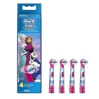 德国直邮 博朗(Braun)欧乐B 冰雪奇缘 3岁以上儿童阶段型电动牙刷刷头 4...