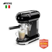 意大利 Smeg ECF01 Espresso 咖啡机 可打奶泡 酷黑色ECF0...