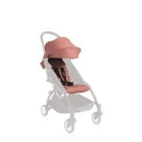德国直邮 Babyzen yoyo婴儿推车车篷 6个月以上 包邮 藕粉色Textilset Ginger 10104-09
