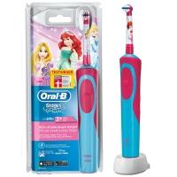 德国直邮 博朗(Braun)欧乐B 迪尼斯公主款 3岁以上儿童阶段型电动牙刷 D...