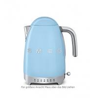 德国直邮 SMEG斯麦格可控温式电热水壶 意大利贵族家庭厨房电器的标准 天蓝色 ...