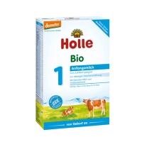 德国直邮 德国泓乐Holle有机婴幼儿配方牛奶粉 牛奶1段 400g 适合0-6...