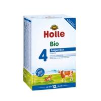德国直邮 德国泓乐Holle有机婴幼儿配方牛奶粉 牛奶4段 600g 适合1岁以...