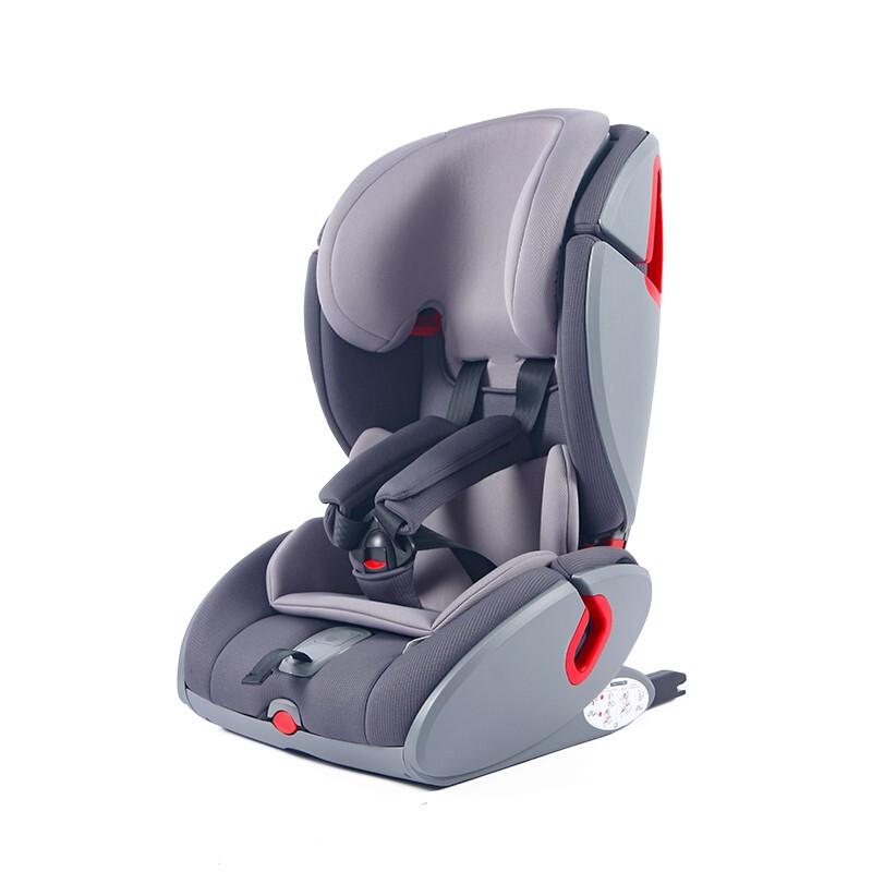 德国直邮齐达迈尔ZEDELMAIER婴儿汽车宝宝儿童安全座椅isofix接口 0-12岁 气质灰