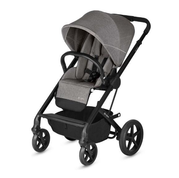 德国直邮 赛百斯Cybex Balios S 2018 Manhattan Grey 高景观婴儿推车