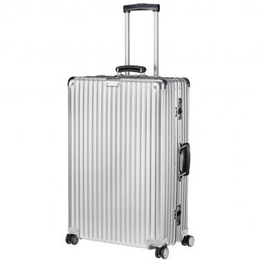 德国直邮 RIMOWA日默瓦 CLASSIC Check-In M 26寸/60L 银色 托运箱 行李箱拉杆箱 972.63.00.4