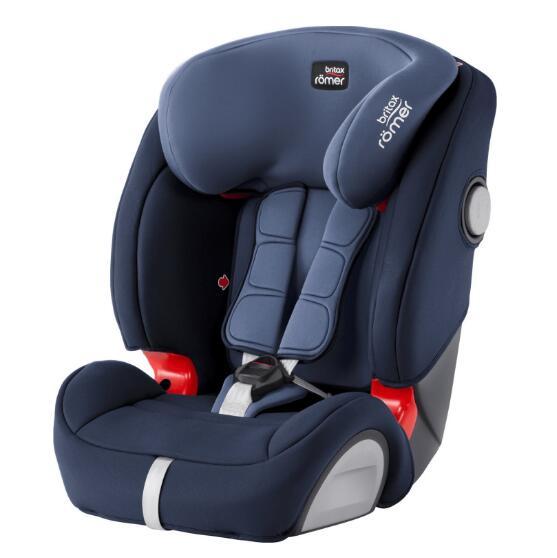 德国直邮 百代适安全座椅Britax Römer Evolva 123 SL Sict Moonlight Blue 月光蓝