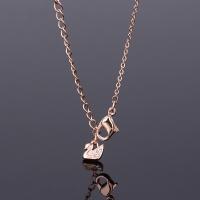 保税直发施华洛世奇(Swarovski)Swan big仿水晶大黑天鹅项链链坠 大号5204134 黑色