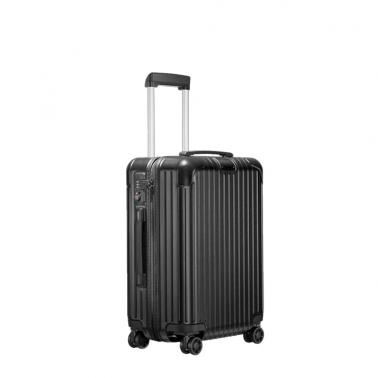德国直邮 RIMOWA日默瓦 ESSENTIAL Cabin 20寸 磨砂黑 登机箱 行李箱拉杆箱 832.52.63.4