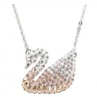 国内现货 施华洛世奇(Swarovski)Swan Small仿水晶天鹅项链链坠...