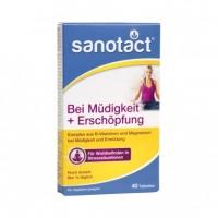德国直邮 Sanotact 维生素B族镁缓解疲劳片剂 B-Vitaminene ...