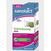 德国直邮 Sanotac 祛脂泡腾片  Fettverdauung Drink Brausetabletten 去脂泡腾片