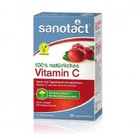国内现货 Sanotact 维生素C 樱桃口味 100% 天然维生素C.  Vit. C