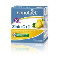 保税直发 Sanotact 综合维生素锌维生素C维生素D Zink + C + ...