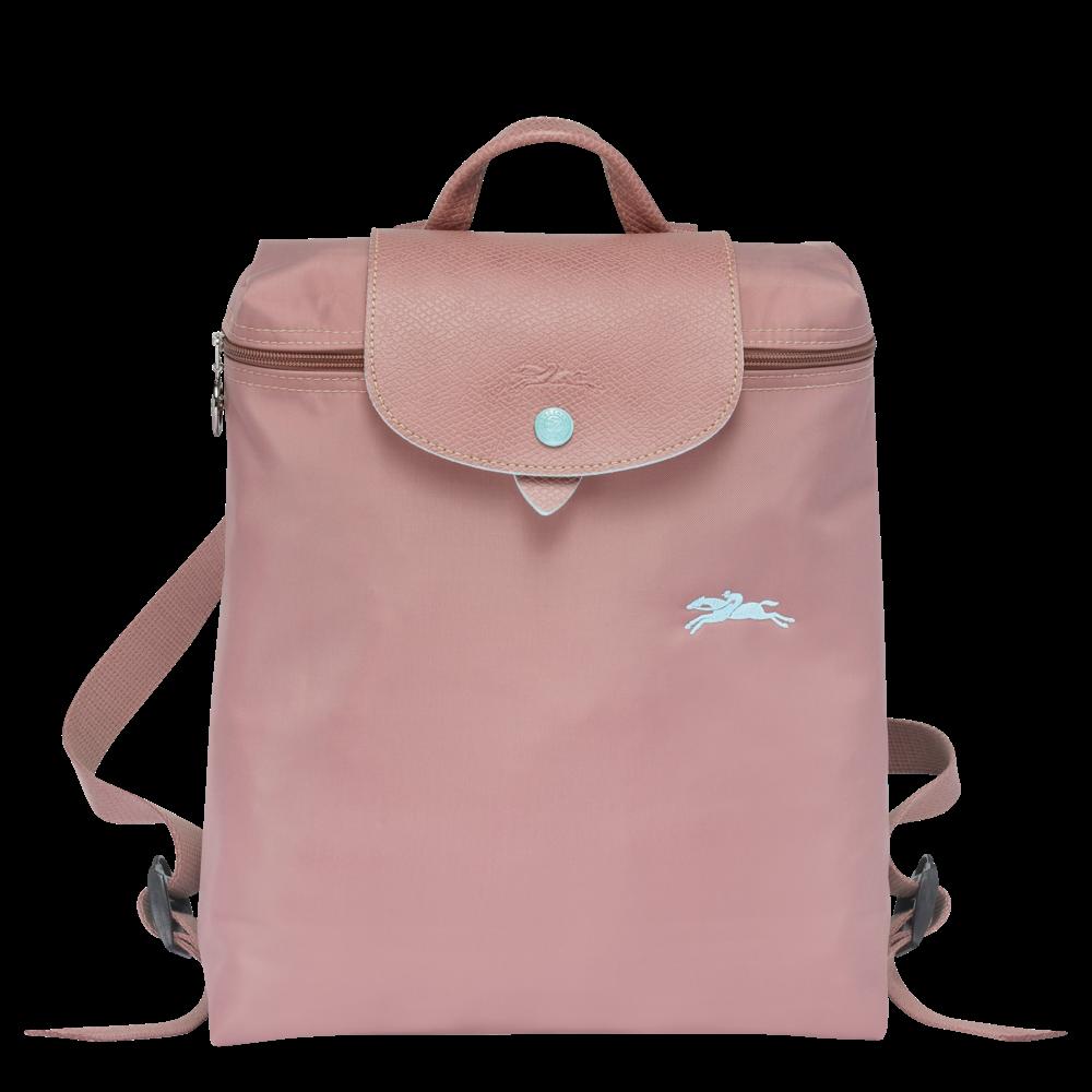 德国直邮 珑骧Longchamp双肩包 LE PLIAGE系列   古董粉红色