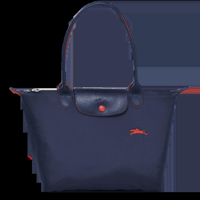德国直邮 珑骧Longchamp手拎单肩包 LE PLIAGE系列   海军蓝色 L2605619556
