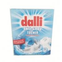 国内现货 Dalli白色衣物吸污纸 15片装