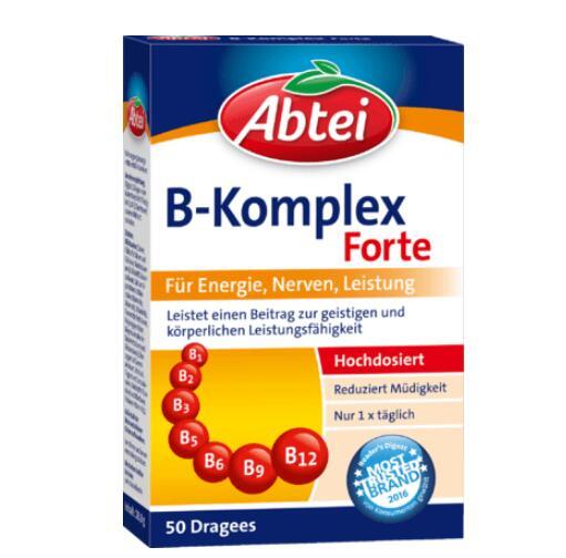 德国直邮 abtei七叶树 维生素B群