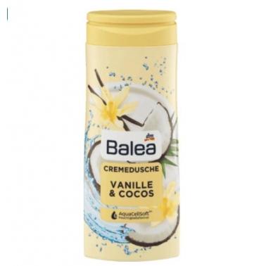 德国 DM超市热销同款 芭乐雅balea沐浴露 香草椰子味 300ml