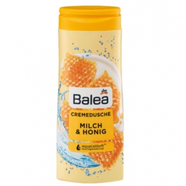 德国 DM超市热销同款 芭乐雅balea沐浴露 蜂蜜牛奶味 300ml