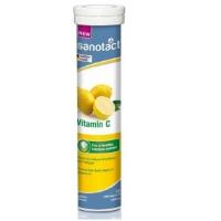 德国 DM超市热销同款 sanotact补充维生素C泡腾片 VC 240mg 20片/支