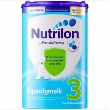 【德国直邮】荷兰本土牛栏 Nutrilon 婴幼儿奶粉 3段 10个月以上 800g