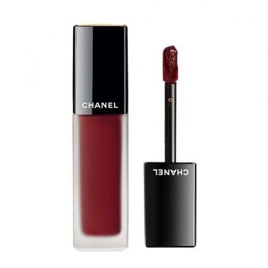 保税直发 Chanel香奈儿 雾面丝绒短管口红哑光唇釉 154#酒红色