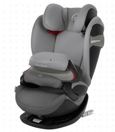德国直邮 德国CYBEX赛百斯Pallas s-fix儿童汽车安全座椅 9月-12岁 isofix硬连接 Soho grey 包邮包税