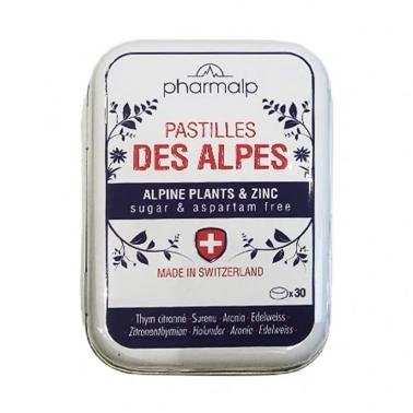 保税直发 pharmalp des alpes 阿尔卑斯草本润喉糖 30粒