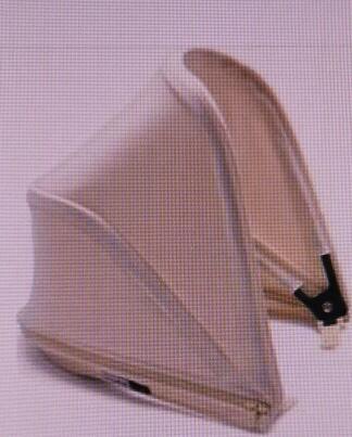 德国直邮 Bugaboo bee5 遮阳蓬 推车配件 白色