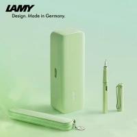 保税直发 Lamy凌美马卡龙三色礼盒(绿)含狩猎者钢笔、吸墨器、一次性墨水芯、笔...
