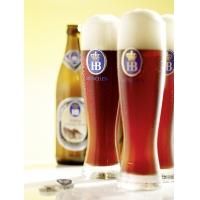 保税直发 HB啤酒专用 流水型小麦啤酒杯 1箱6个 500毫升