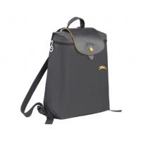 德国直邮 珑骧Longchamp双肩背包 LE PLIAGE CLUB系列 金属灰 L1699619300