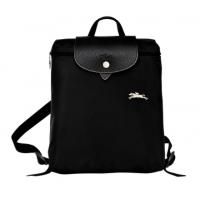德国直邮 珑骧Longchamp双肩背包 黑色 LE PLIAGE CLUB系列...