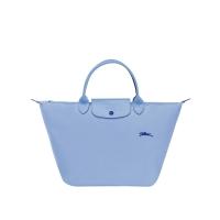 德国直邮 珑骧Longchamp手提包 短柄小号 蓝色 LE PLIAGE CL...